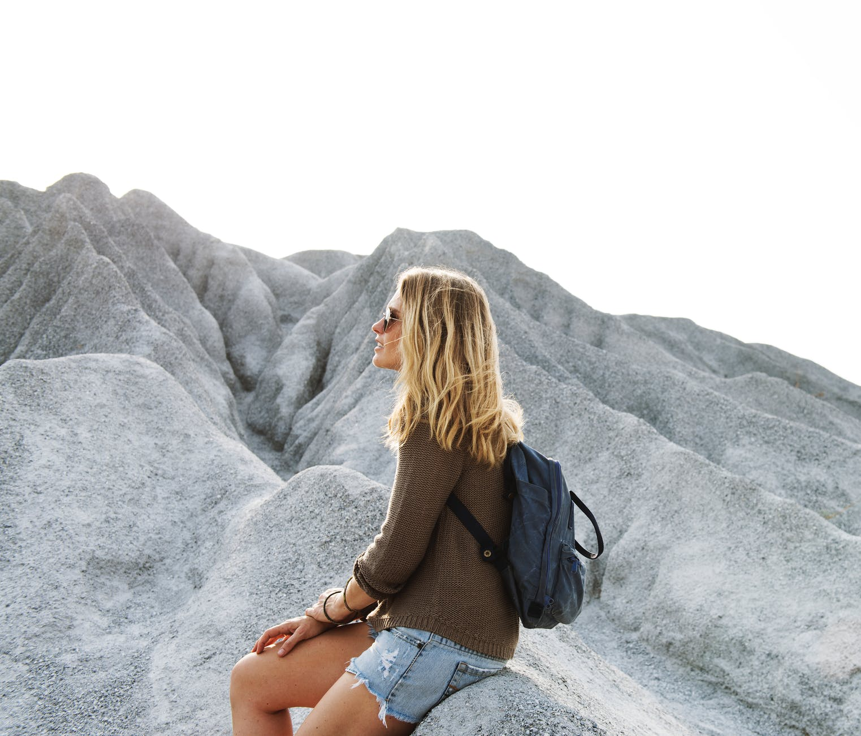 adult casual climb enjoyment